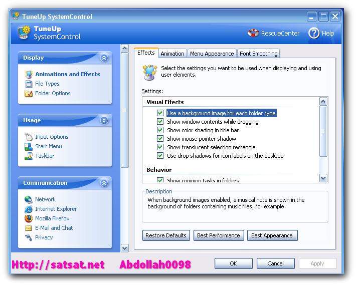 TuneUp Utilites 2007 6.0.2311. Компактный пакет системных утилит: чистка и